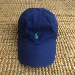 Polo Ralph Lauren Classic Leather Strap Ball Cap